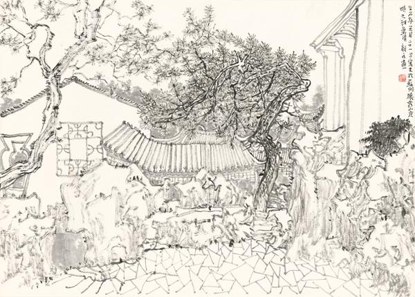 园61境——苏州园林写生作品展——苏州市公共文化